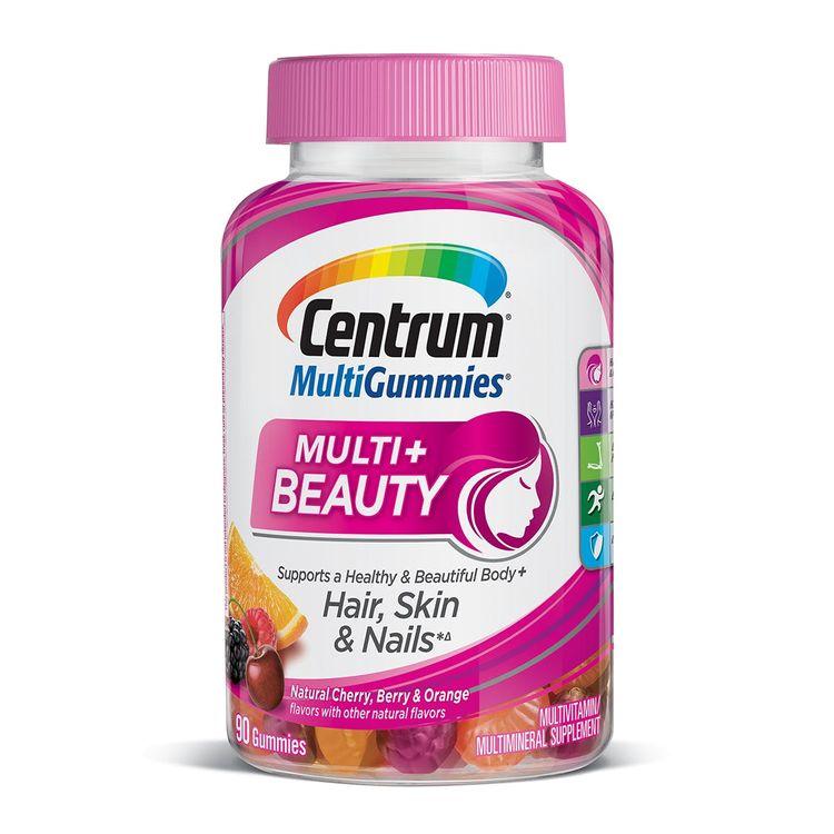 Centrum® MultiGummies Multi + Beauty