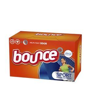 Bounce® Sport™ Fabric Softener Dryer Sheets