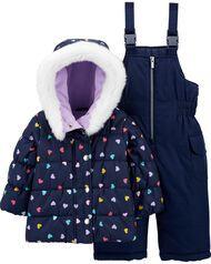 Carter's 2-Piece Heart Snowsuit Baby