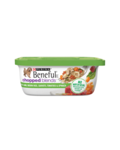 Beneful Chopped Blends Wet Dog Food with Lamb, Brown Rice, Carrots, Tomatoes and Spinach