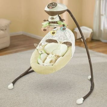 Fisher-Price® My Little Cradle 'n Swing