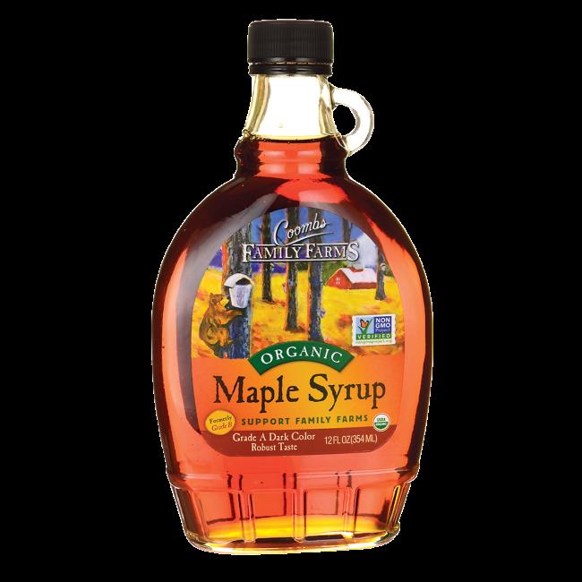 Organic Maple Syrup - Grade A Dark Color