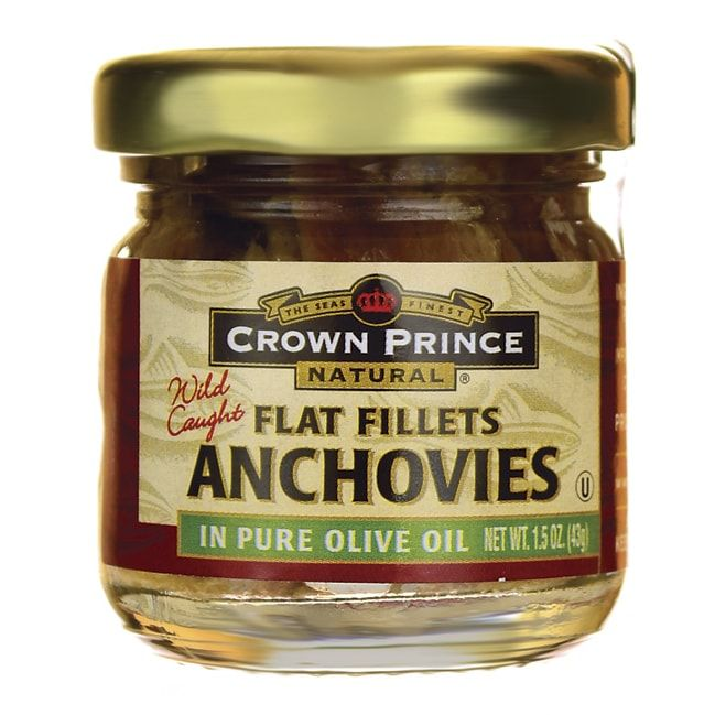 Wild Caught Anchovies Flat Fillets in Pure Olive Oil