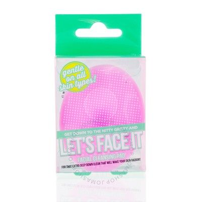 Let's Face It Silicone Facial Cleansing Pad - Pink - Best Accessory Group