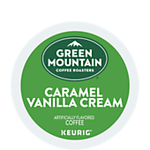 Keurig® Green Mountain Coffee Roasters® Caramel Vanilla Cream Coffee K-Cup Pod
