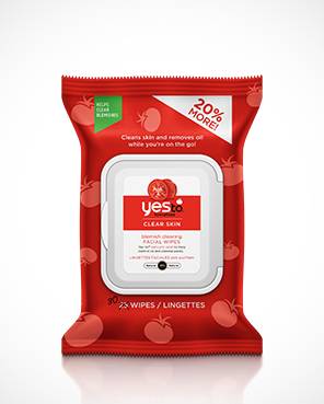 Yes To Tomatoes Blemish Clearing Facial Wipes 30Ct