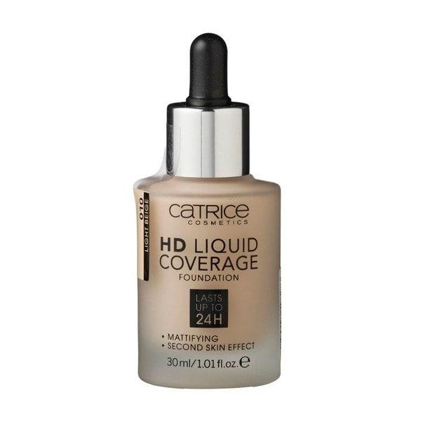 Catrice HD 010 Light Beige Liquid Coverage Foundation
