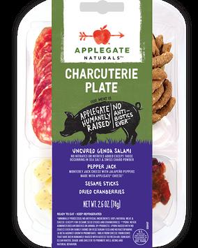 Applegate Naturals Genoa Charcuterie Plate with Pepper Jack