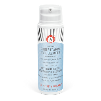 First Aid Beauty Pure Skin Gentle Foaming Face Cleanser with Amino Acids