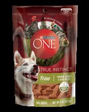 Purina ONE® True Instinct Trios Chicken, Turkey & Duck Dog Treats