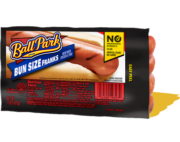Ball Park Bun Size Classic Hot Dogs