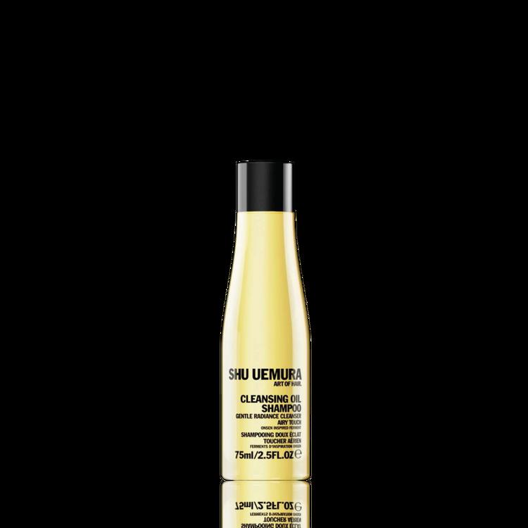 shu uemura gentle radiance cleansing oil travel-size shampoo