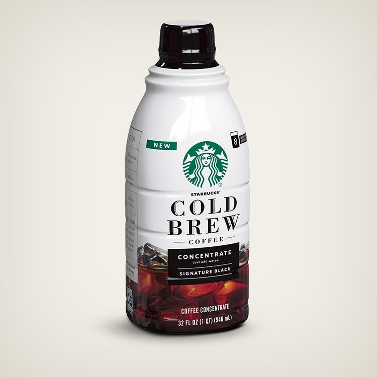 Starbucks Cold Brew Multi-Serve Concentrate Signature Black