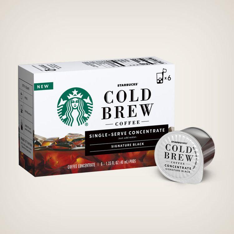 Starbucks Cold Brew Single-Serve Concentrate Signature Black