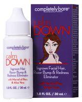 Completely Bare calm DOWN Ingrown Hair Razor Bump & Redness Eliminator