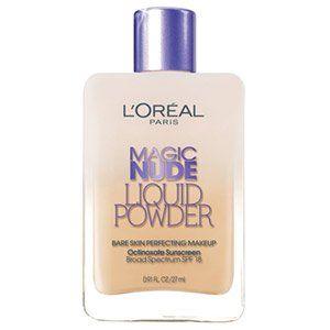 L'Oreal Paris Liquid Powder Bare Skin Perfecting Makeup SPF 18