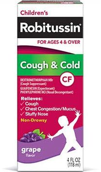 Robitussin Cough & Cold CF