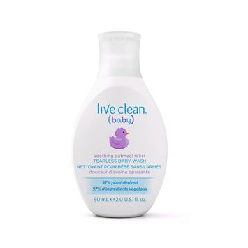 Live Clean Baby - Soothing Relief Baby Wash