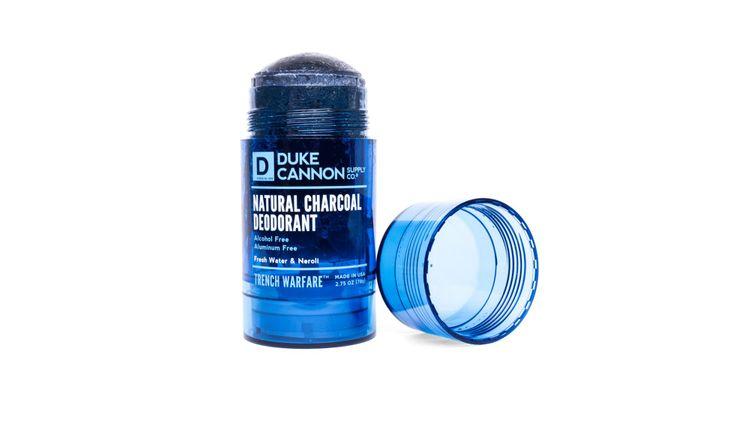 Duke Cannon Trench Warfare Natural Charcoal Deodorant (Fresh Water & Neroli)