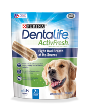 DentaLife ActivFresh Oral Care Supplements for Large Dogs