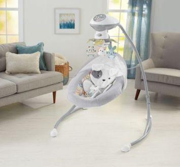 Fisher-Price® Sweet Snugapuppy™ Dreams Cradle 'n Swing