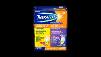 Theraflu Day/Night - Hot Liquid Powder Value Pack
