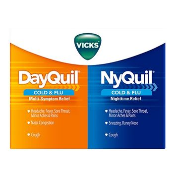 Vicks® DayQuil™ / NyQuil™ Cold & Flu Relief LiquiCaps™ Co-Pack