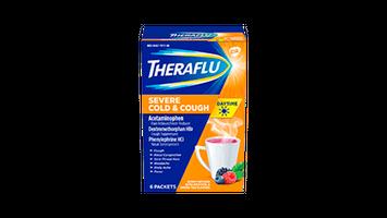 Theraflu Daytime Severe Cold & Cough - Hot Liquid Powder