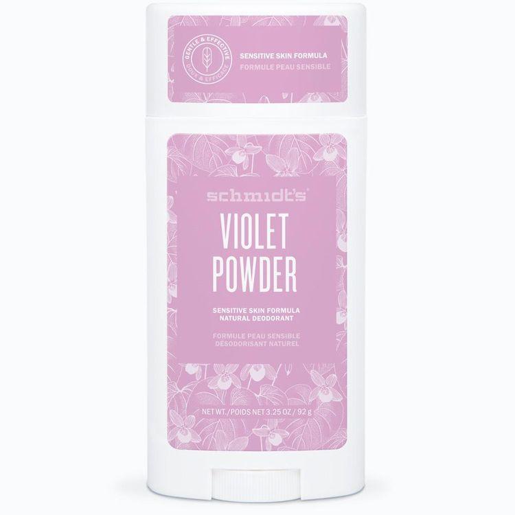 Schmidt's Violet + Powder Sensitive Skin Deodorant Stick
