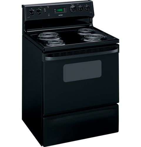 """Ge Appliances Hotpoint® 30"""" Free-Standing Electric Range RB536BKBB"""