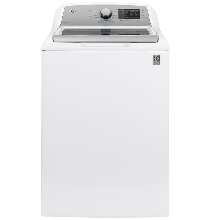Ge Appliances GE® 4.6 cu. ft. Capacity Washer with Sanitize w/Oxi and FlexDispense™