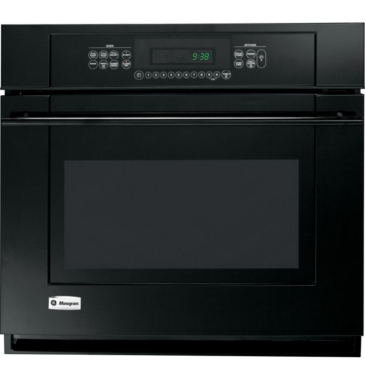 "Ge Appliances GE Monogram® 30"" Built-In Electric Single Oven ZET938BMBB"