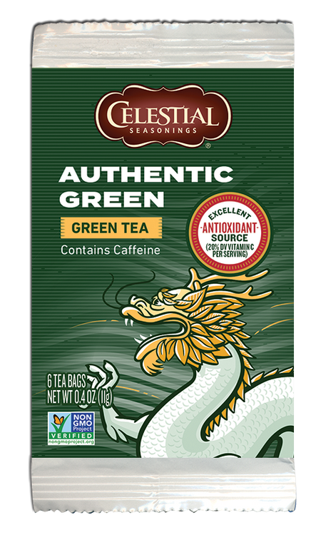 Celestial Seasonings Authentic Green (Small Pack)