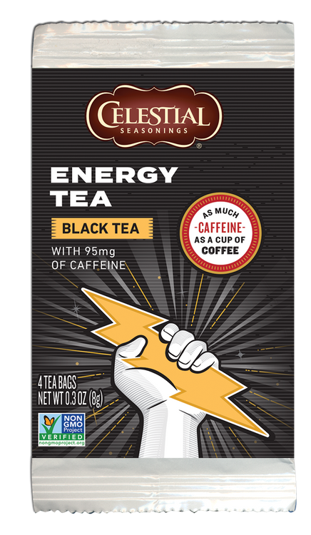 Celestial Seasonings Energy Black (Small Pack)