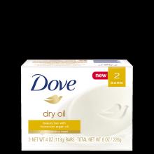 Dove Dry Oil Beauty Bar