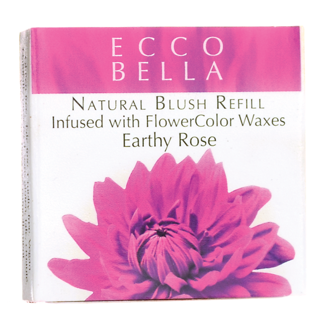 Natural Blush Refill Infused with FlowerColor  - Earthy Rose