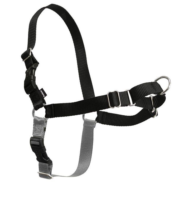 Easy Walk® Harness- Small, Black/Silver