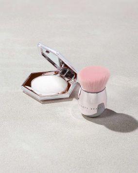 Fenty Beauty Diamond Bomb Buki Duo All-Over Diamond Veil + Brush