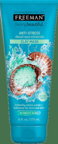 ANTI-STRESS  DEAD SEA MINERALS CLAY MASK