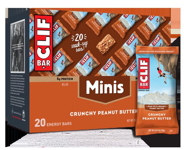 Clif Crunchy Peanut Butter Minis