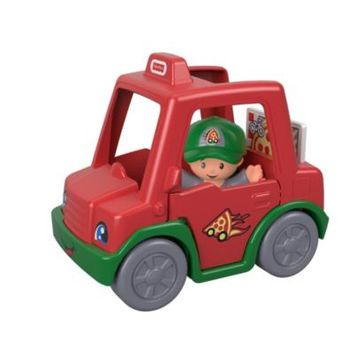 Fisher-Price® Little People® Have a Slice Pizza Delivery Car