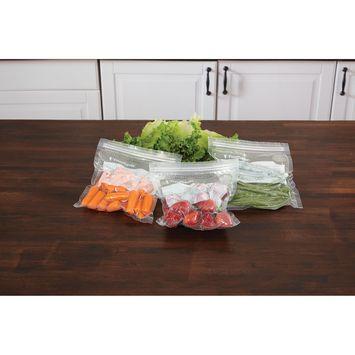 FoodSaver�� Vacuum Zipper Bags - 30 Quart & 20 Gallon Bag Combo Pack