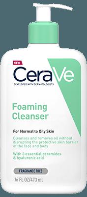 Cerave Foaming Facial Cleanser