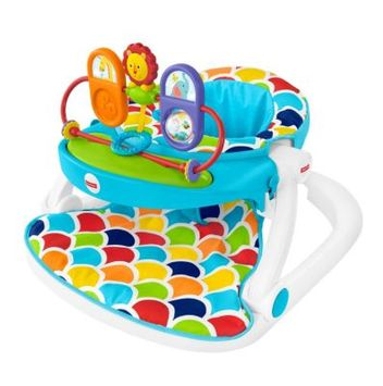 Fisher-Price® Deluxe Sit-Me-Up Floor Seat with Toy Tray