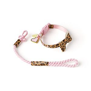 American Girl Leopard Leash Set