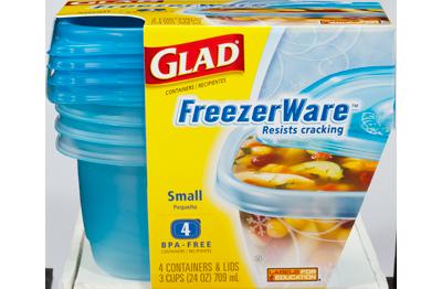 Glad ® FreezerWare™ Small
