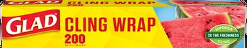 Glad ® ClingWrap