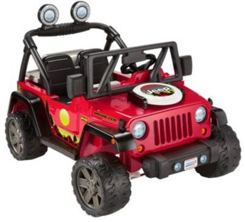 Fisher Price® Power Wheels® Jeep® Wrangler