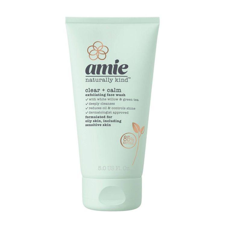 Amie Clear & Calm Exfoliating Face Wash - 5 fl oz