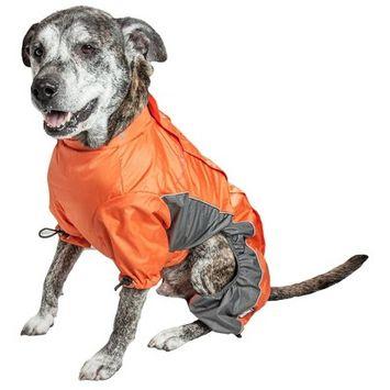 Dog Helios Blizzard Full-Bodied Adjustable and 3M Reflective Dog Jacket - Orange - XL